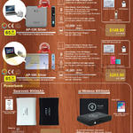 The Perpetuity Enerpad Power Banks AC AP-12K Silver, 18K Silver, Swarovski 9000mAh, Qi Wireless 9000mAh