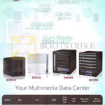 NAS Multimedia Data Centre N2310, N2560, N4560, N5550