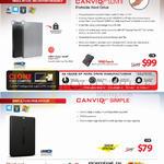 External Storage Drive Canvio Slim II 1TB, Canvio Simple