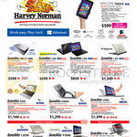 Notebooks Satellite NB10, C40, C50, L50, S40t, U840t, U40t, L30W, P30W, P50, Encore Tablet
