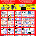 Accessories Cables, HDMI, Audio Splitter, Card Reader, USB Hub, IPad Case, Notebook Keylock, Cheque Printing Software