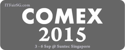 Singapore COMEX 2015 IT Show Exhibition @ Suntec Convention Centre 3 - 6 Sep 2015