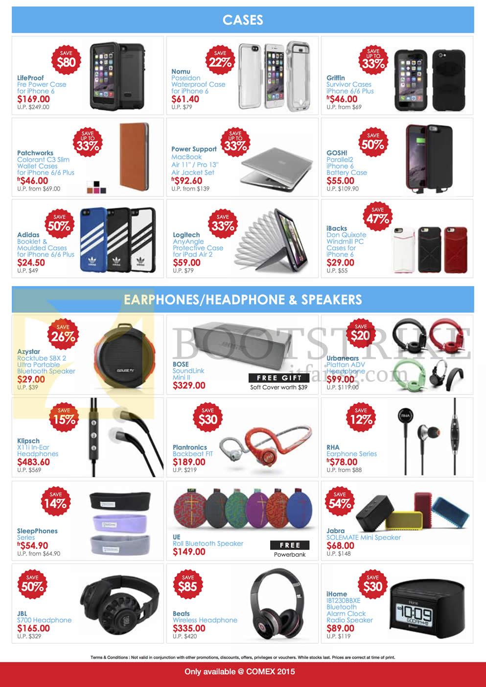 EpiCentre Cases, Earphones, Headphones, Speakers, Lifeproof