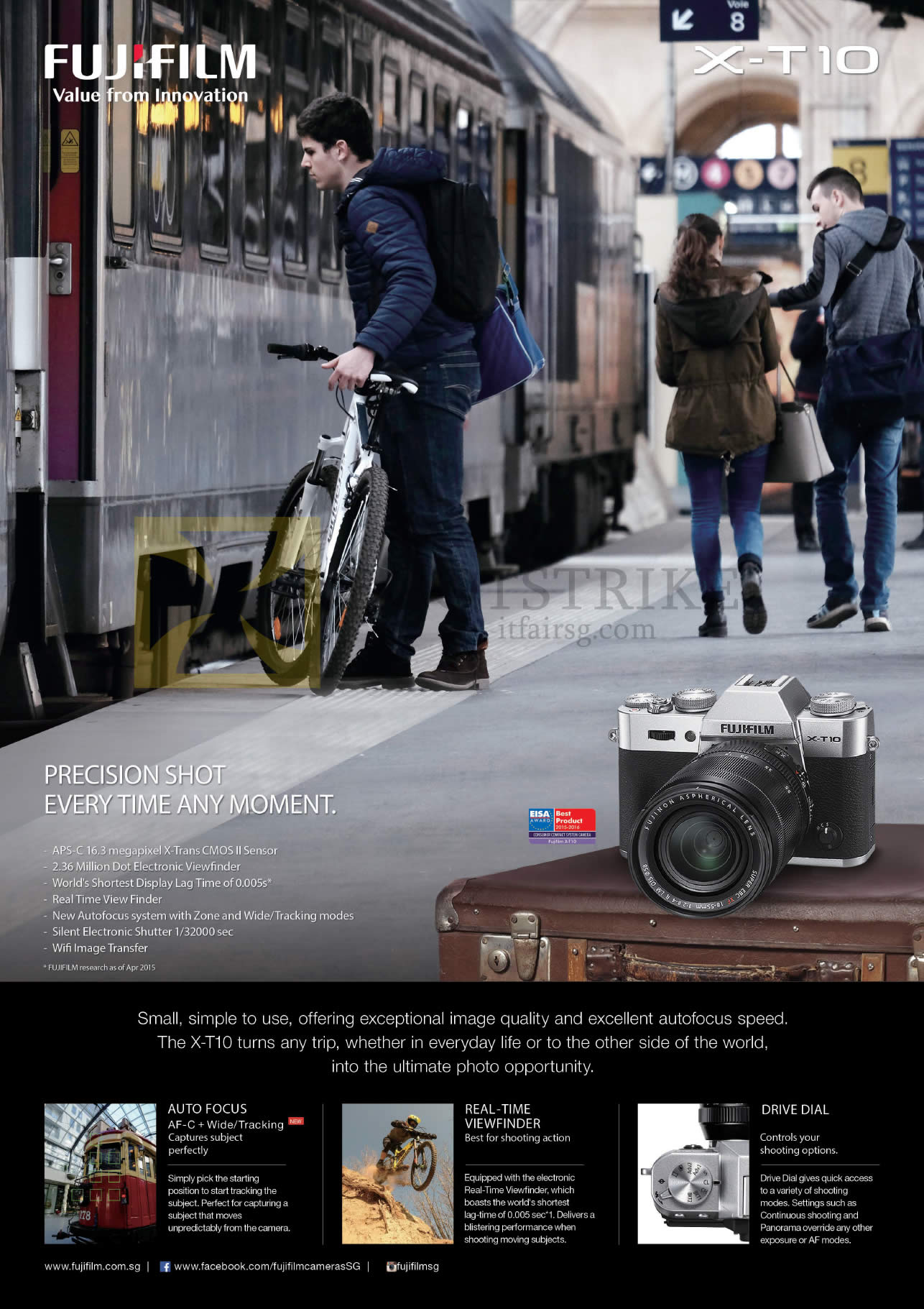 Fujifilm Digital Camera X-T10 Features
