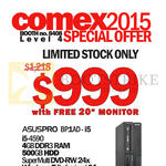 (SMB Solutions) Asuspro Desktop PC BP1AD-i5