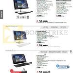AIO Desktop PC, ET2323INT-BF031Q, ET2323INT-BF032Q, ET2230INK-WC015Q, PT2001-BE011Q