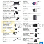 Accessories, Covers, Bags, Backpacks, Sleeves, Mousepads, Mouse, Universal Adapters, Stylus Pen