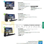 Desktop PCs ASUSPro Enterprise BP1AD-I34150416F, I54590417F, BP1AE-I54590105F, BT1AE-I5459S037F