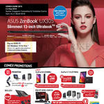 Notebooks Featured Buys ZenBook UX305, ROG, ZenPad 8.0 Z380KL, ZenPad C