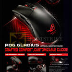 ROG Gladius Optical Gaming Mouse Features