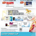 Lucky Draw, Free Gifts, QNAP NAS