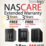 NASCare Extended Warranty 2 Bay, 4 Bay
