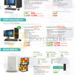 Desktop PCs Aspire XC-705, Predator G3-605, Revo One RL85