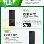 Newstead Desktop PCs Aspire XC705