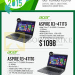 Newstead Noteboks Aspire R3-471TG