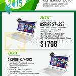 Newstead Notebooks Aspire S7-393
