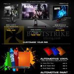 Benq Monitors XL2411Z, XL2420G, RL2455HM, Automotive Vinyl, Paint