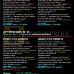 Notebooks S-15, S-17, 970M GTX CONFIG, 980M GTX CONFIG