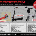 Scoozoom Electric Scooter Z, H, S Series, Screen Guardian
