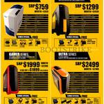 Desktop PCs Moba, Evolve, Gamer, Ultra Series, Samsung Monitor