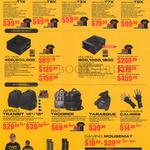 Desktop PCs, Power Supplies, Accessories, Nanotron T1X, Microtron T2X, Hectotron T3X, TeraTron T7X, ZetaTron T9X, Voltron 400, 500, 600, 800, 1000, 1200