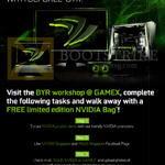 Asus BYR Workshop, Free Limited Edition NVIDIA Bag