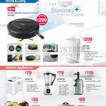 Vacuum Cleaner VC3000, MT402 Air Purifier, ABM750 Bread Maker, ASM800 Soup Maker, SJ1000 JuiceMAX Slow Juicer, MF801C 8-IN-1 Cooker, AEK1700 Electric Kettle