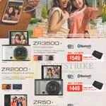 Digital Cameras ZR3500, ZR2000, ZR50