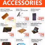 Accessories Leather Case, Lightning Cable, Keyboard Case, PowerBank, HandGrip Case, Activity Tracker, Lifetracker