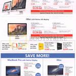 Apple Desktop PCs IMac, MacBook Pro With Retina Display, Free Gifts