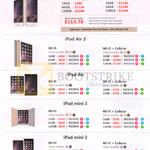 Apple Mobile Phones, Tablets, IPhone 6, 6 Plus, IPad Air 2, Air, Mini 3, Mini 2