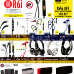 Klipsch Earphones, Headphones, Speakers, R6i, X11i, X7i, A5i, AS5i, AW4i, R6, R6IM, S3M, Image One, Reference ON Ear, Status, Promedia, Gig, KMC1, KMC3
