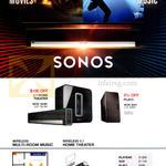 Sonos Home Theatre System 3.1, Play 3, Wireless Multi-Room Music, Wireless 5.1 Home Theatre