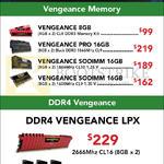 Corsair RAM Memory Vengeance, Pro, Sodimm, DDR4 Vengeance LPX