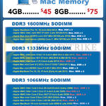 Crucial Mac Memory DDR3