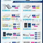 G-Technology Mac Storage Solutions G Drive MobileUSB, Mini, Ev Raw, USB, G Raid, Mini