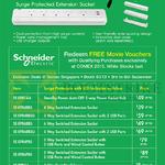 Schneider Powex Extension Socket SE-EPB1A4, SE-EPB4BBS, SE-EPB6BBS, SE-EPB6PBS, SE-EPBA1, EPBA2, EPBA3, EPBA4