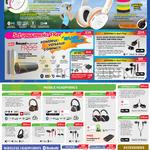 Headphones Outlier, SoundBlaster, Aurvana Platinum, Gold, Live 2, In-Ear 2, 3, HITZ MA2600, MA330, MA350