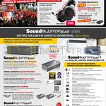 Headset, Speakers, Sound BlasterX H5, Roar, Roar 2,