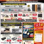 Speakers SoundBlaster Series X7, Roar, Roar 2, Yin Yang, Mega