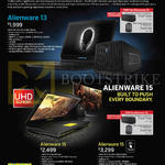 Notebooks Alienware 13 AW13-421112G-W8-SLR GTX860, AW15-471113G-W8-SLR, 15 AW15-471114G-W8-SLR GTX980