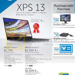 Notebooks, Purchase With Purchase, XPS 13 9343-52081SG-W8-BLK, XPS 13 9343-55082SG-W8-BLK QHD+T