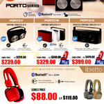 Lab Wireless Hi-Fi, Headset, Porto Series, V, VII, XI, Libretto