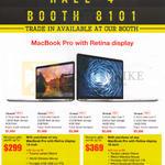 Apple MacBook Pro With Retina Display 13 Inch, 15 Inch
