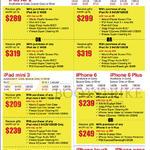 Apple IPad Air 2 Tablet, IPad Mini 3, IPhone 6, IPod Touch, IPod Nano, IPhone 6 Plus