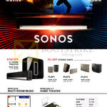 Home Theatre Systems 3.1, Play 3, Wireless Multi-Room Music, Wireless 5.1 Home Theatre