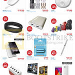 Powerbanks Accessories, Glucose Monitor, Car Charger, Hue Tap, Jawbone Up Move, Smart Band, Screen Protector