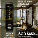 Epic Mechanical Doorlock POPscan L