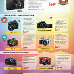 Digital Cameras (No Prices) XQ1, X-51, S1, HS55, S8600, JZ700, F850, XP70, XP80