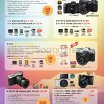 Digital Cameras X-T1, X-T10, X-E2, X-A2, XC-50, X-M1